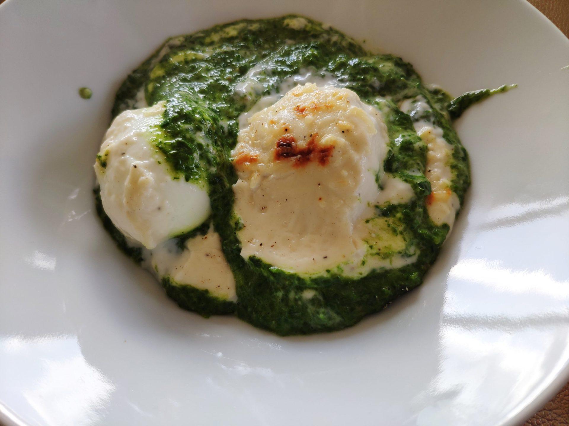 Les œufs à la florentine