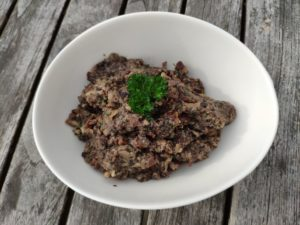 Tapenade champignons olives