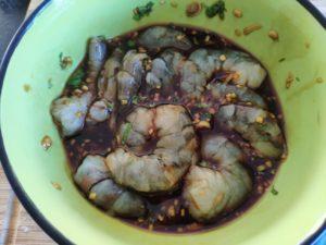 Croustillants de crevettes à la citronnelle