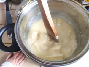 La fondue moitié-moitié