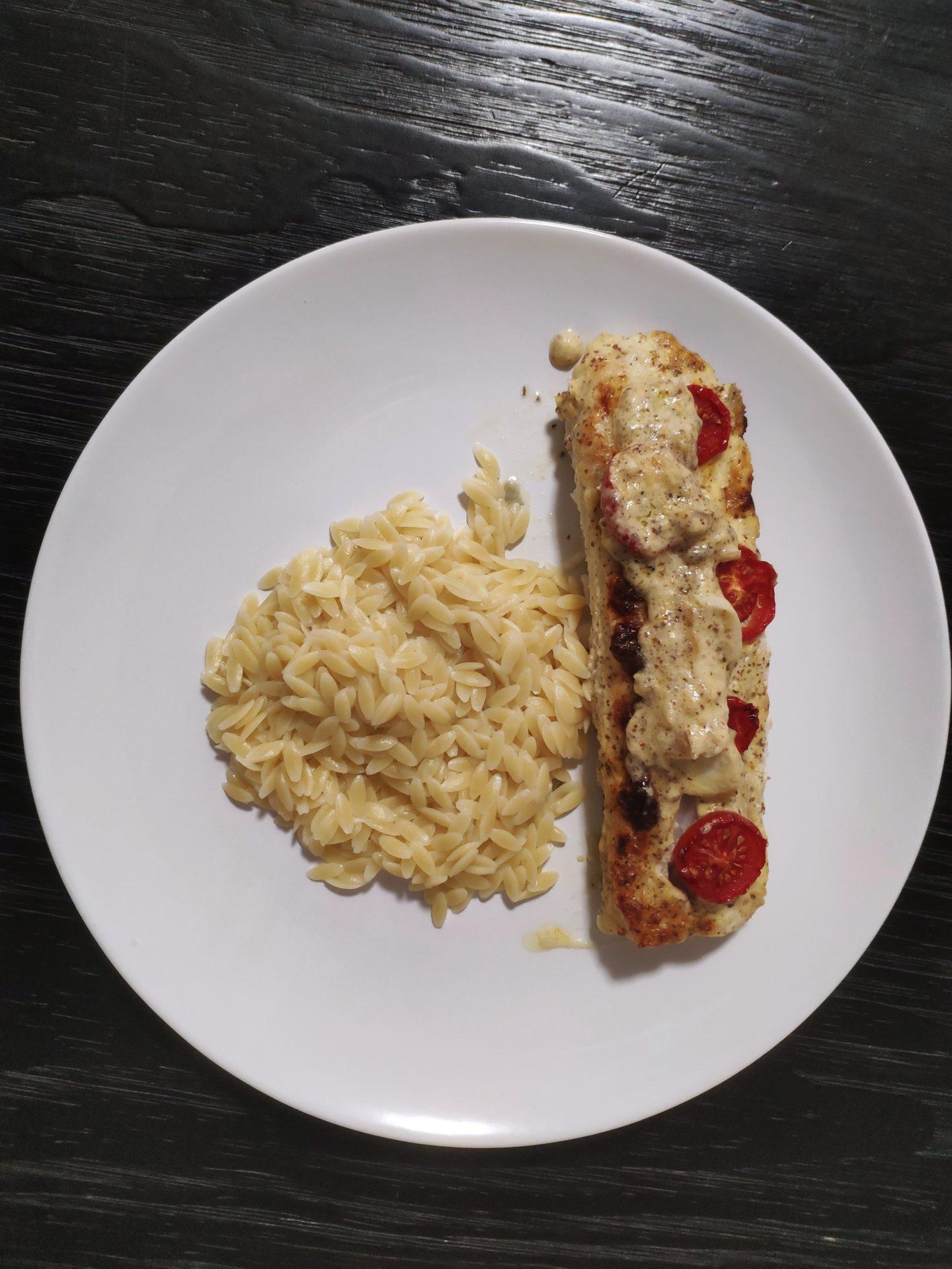 Filet de Julienne à la moutarde de Charroux