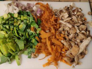 Bouillon maison de légumes