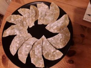 Ravioles de crevettes à la citronnelle