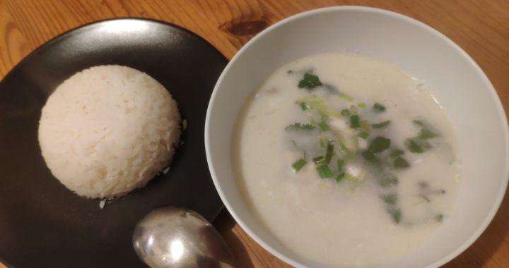 Soupe de poulet coco - Tom Kha Gai