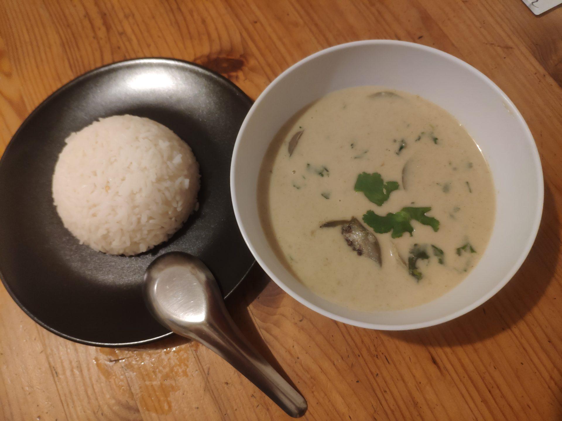 Curry vert de poulet - Gaeng Kheo Wan Gai