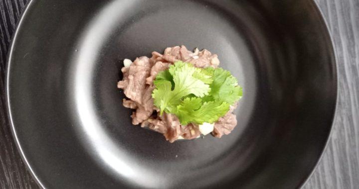 Salade de bœuf à la citronnelle