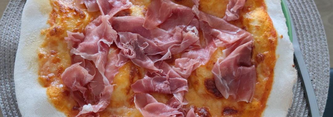 Pizza au jambon de Parme