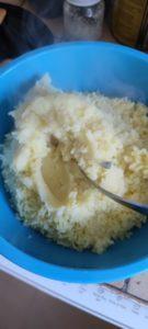 Raie au vinaigre et sa purée de pommes de terre